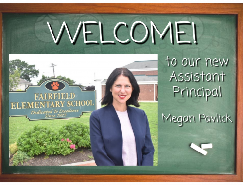 Welcome to our new Assistant Principal!