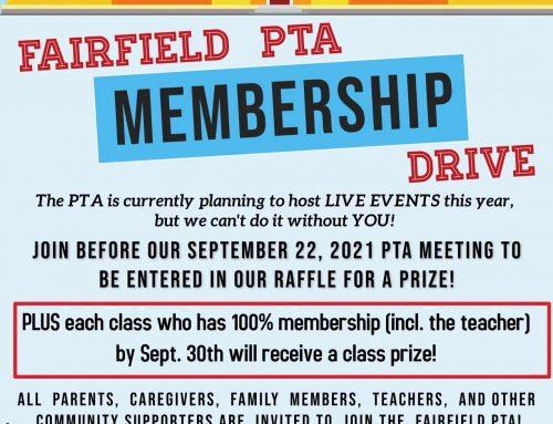 Fall Membership Drive!